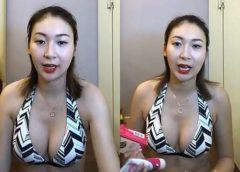 香港女星 莊思敏(Jacquelin)大晒事業線!玩直播力推IVY MAISON豐胸產品